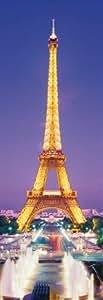 Clementoni-39146-Puzzle 1000 pc-Paris Tour Eiffel