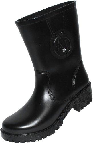 Boots Armani nero Nero Damen Biker qXxX4zEH