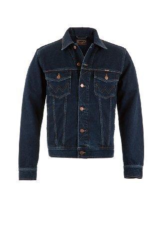 wrangler-veste-en-jeans-authentic-western-pour-homme-bleu-noir-705-xxl