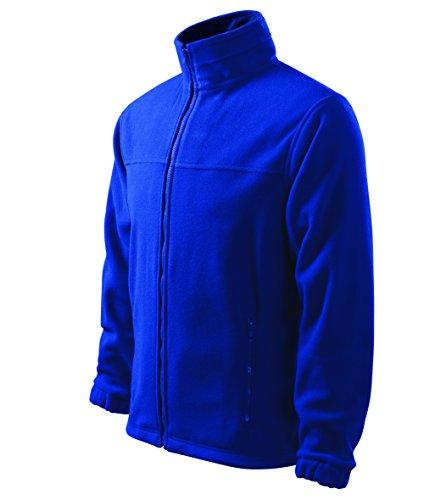 OwnDesigner by Adler Herren Fleecejacke Freizeitjacke Outdoor Pullover Fleece (Blau, L) (Pullover Adler)