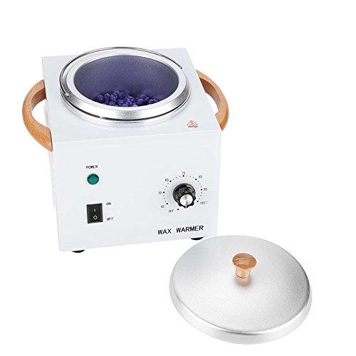 Haar-Abbau-Enthaarungs-Wachs-Heizungs-Maschine der Harz-150W, der Wärmer-Topf einwächst(Weiß)