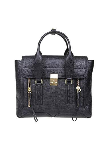 Phillip Lim 3.1 Damen Ac000179skcba010 Schwarz Leder Handtaschen