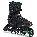 K2 30C0011.1.1 Rollers en Ligne Homme, Noir/Vert, Taille : 44,5