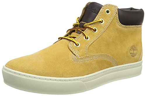 timberland-dauset-sneakers-hautes-homme-jaune-wheat-42-eu