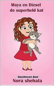 Maya en Diesel de superheld kat