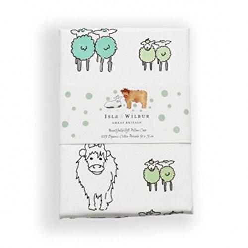 Isla & Wilbur verde o Raspberry Twin Lambs federa
