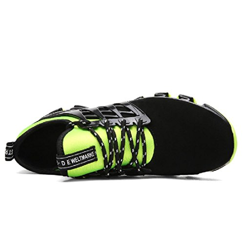 Uomo Scarpe sportive Moda Tempo libero Scarpe da corsa Scarpe da ginnastica Scarpe da pallacanestro Green