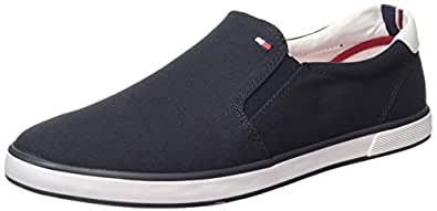 Tommy Hilfiger Scarpe Low-Top, Uomo, Blu (Blu (MIDNIGHT 403)), 41