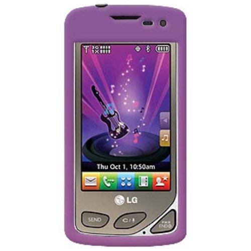 Amzer Schutzschale für LG Chocolate Touch VX8575 (zum Aufstecken) Violett Verizon Pda