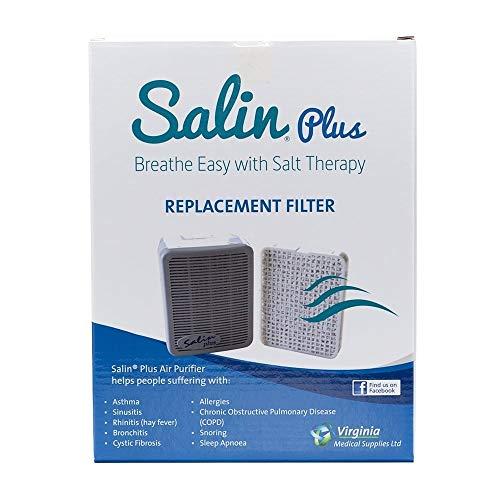 Salin Plus Salt Therapy Air Purifier (Replacement Filter) by Salin
