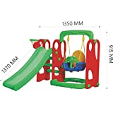 Playgro Super Slide and Swing Combo 216 For Kids (Colour May Vary)