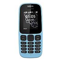 هاتف نوكيا 105  ثنائي الشريحة - ازرق
