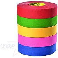North American Raqueta Tape 27m x 24mm colores, amarillo