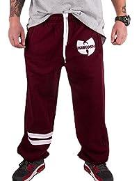 Wu Wear - Wu Tang Clan - 36 Wu Sweatpants - Wu-Tang Clan Tamaño M, Color asignado Red