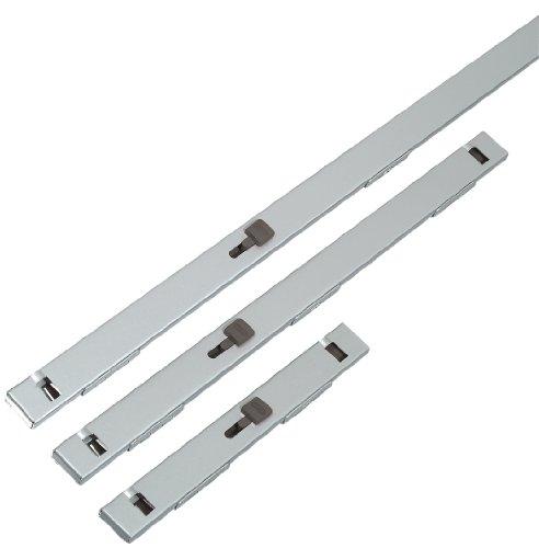 ABUS 0703034.5-inch chrom Datei bar 3Schubladen, grau