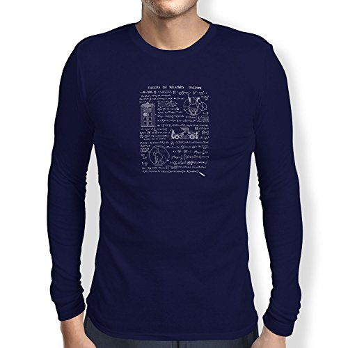 TEXLAB - Theory of Relativity - Herren Langarm T-Shirt, Größe L, (S Darko Kostüm)