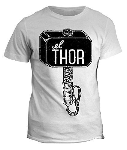 T-shirt Martello di Thor- supereroe humor -the dark world cinema cartone cartoon maglietta uomo donna bambino
