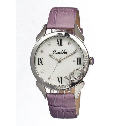 bertha-bthbr2301-orologio-da-polso-da-donna-cinturino-in-pelle-colore-porpora