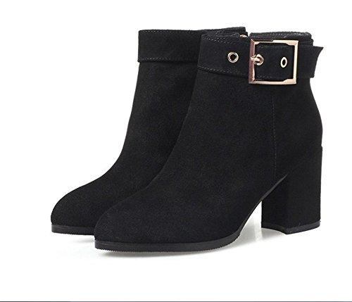 Stivali Stivali unico spessore con stivali di nudo black