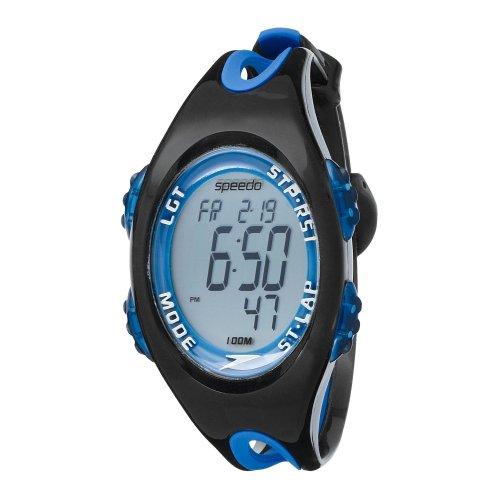 speedo-isd50555-montre-mixte-quartz-digital-cadran-gris-bracelet-cuir-blanc