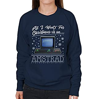 All I Want for Christmas is an Amstrad Women's Sweatshirt