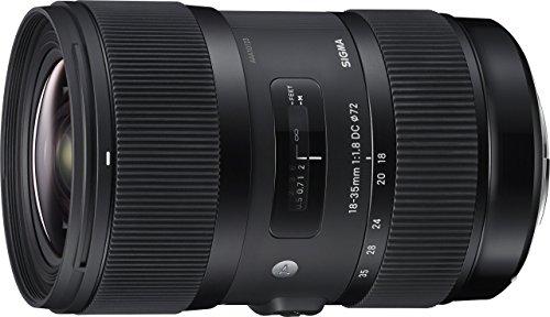 Sigma 18-35mm F1,8 DC HSM (Filtergewinde 72mm) für Canon Objektivbajonett schwarz