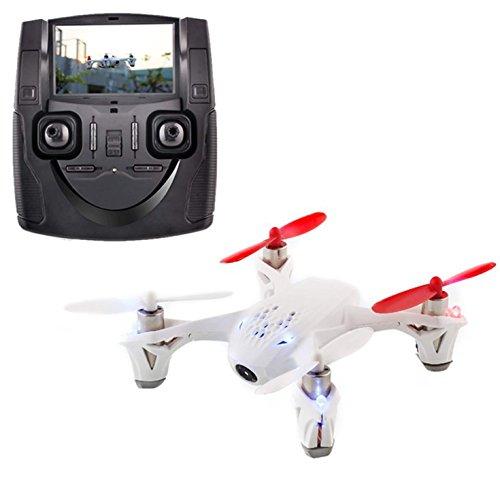 Hubsan H107D – Ferngesteuerte Modelle und Zubehör, 4 Kanal Quadrocopter mit 5,8G FPV Video Live-Übertragung