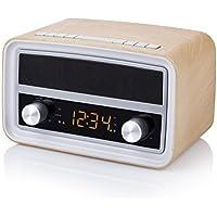 Smartwares RD-1535 Radio retro – Bluetooth – USB – Entrada auxiliar – Función de alarma