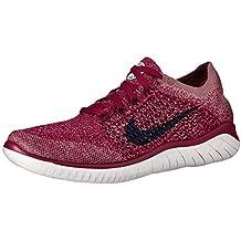 buy popular 0bbe5 ce1db Nike Damen WMNS Free Rn Flyknit 2018 Leichtathletikschuhe