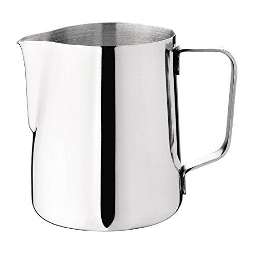 Milch oder Wasser Krug 95x 70mm Edelstahl Tasse Creamer Krug
