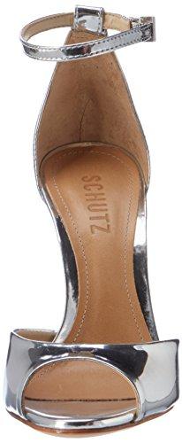 Schutz - S0-13871078, Scarpe con cinturino Donna Silber (Prata)