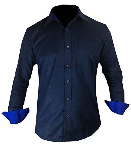 Millennium Branded 100% Pure Cotton Raymonde Blue Full Sleeve Casul...