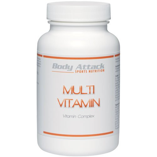 Body Attack Multi Vitamin, 100 Tabletten -