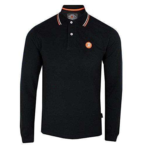 trojan-records-polo-camiseta-para-hombre-negro-de-manga-larga-para-negro-negro-xx-large