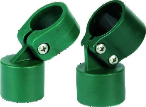 Halsbänder für Wirbelwind Durchm mm. Laminierte 48Farbe grün–Kit 3Stück.