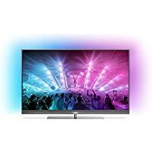 "TV LED 55"" - Philips 55PUS7181/12, Ultra HD 4K, HDR Plus, Android TV, Ambilight 3 Lados"