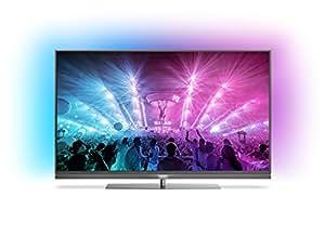 Philips – Téléviseur ultraplat 4K Android avec Ambilight sur 3côtés et PixelPrecise Ultra HD
