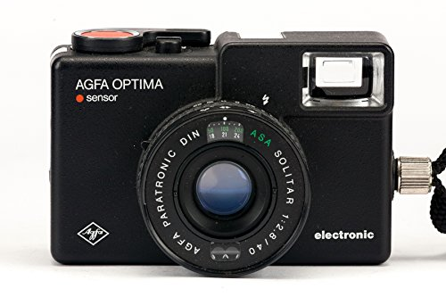 Agfa Optima Sensor electronic Kamera Sucherkamera mit Solitar 1:2.8/40 Optik
