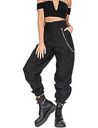 Topgrowth Pantaloni Donna Sportivi Casual Harem Pantaloni da Jogging  Cascante Hip Hop Moda Pantalone da Ballo fc604c37fbcd