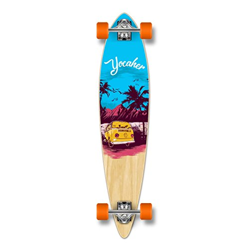 Yocellow VW Vibe Beach Series Skateboard Longboard