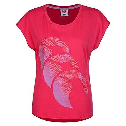 Canterbury - Ccc Graphic T-Shirt - Femme - Azalée -