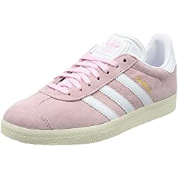 Adidas Gazelle W, Zapatillas Mujer, Rosa (Wonder Pink/Footwear White/Gold Metallic), 40 EU