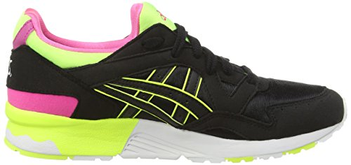 Asics Gel-lyte V Gs, Sneakers Basses Mixte adulte Noir (black/black 9090)