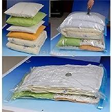 Medium Travel Vacuum Storage Bags for Clothes – 50x70cm - Pack of 6