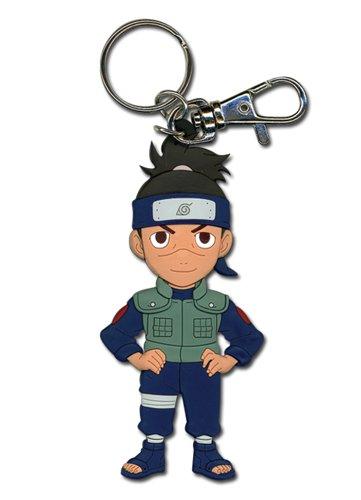 Naruto Chibi Iruka (manos en la cadera) Llavero