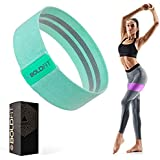 Boldfit Fabric Resistance Band - Loop Hip Band for Women & Men for Hip, Legs, Stretching, Toning Workout. Mini Loop Booty Ban