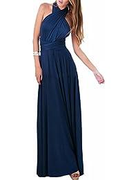 4e39f05c8859 EMMA Donne Lunga Vestito da Cocktail da Sera Elegante Damigella D onore