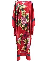 Robe d'intérieur kimono femme - robe de chambre style boubou satiné