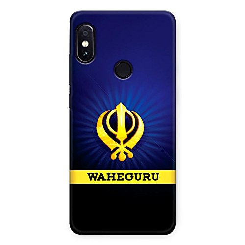 Crazyink Xiaomi Redmi Note 5 Pro TPU Soft Silicone UV Printed Designer Back Cover Case | Waheguru Gold | DSLR | Picture | Photography | Scratch Proof | Lifetime Printing Guarantee | Shock Proof | Waterproof | Durable | Slim Light Weight.