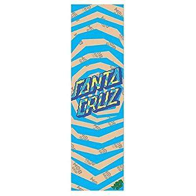 "Santa Cruz / Mob Illusion Dot Clear 9""x33"" Grip Skateboard"